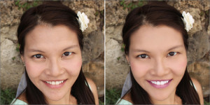 photo retouch service sample work